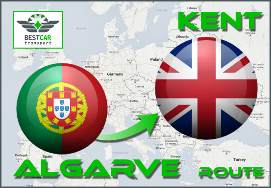 Car Transport From Algarve to Kent