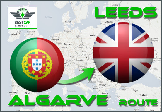 Car Transport From Algarve to Leeds
