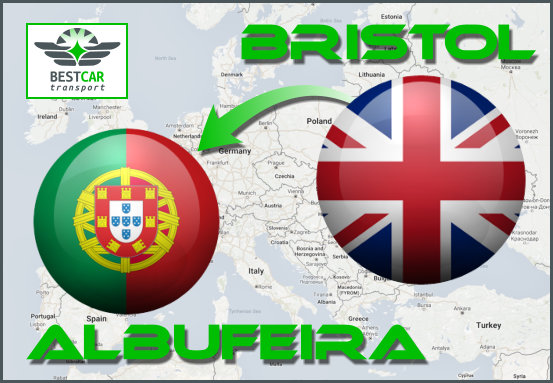 Car Transport Form Bristol to Albufeira