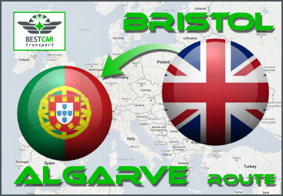 Car Transport Form Bristol to Algarve