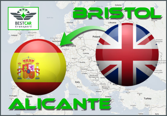Car Transport Form Bristol to Alicante