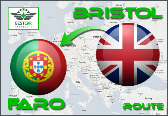 Car Transport Form Bristol to Faro
