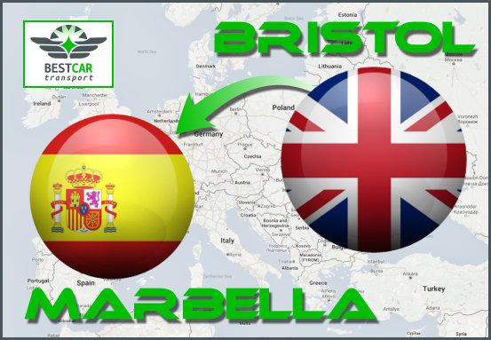 Car Transport Form Bristol to Marbella