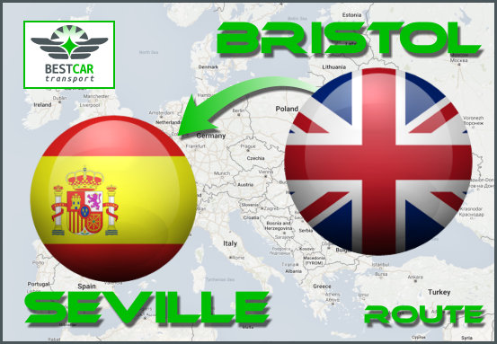 Car Transport Form Bristol to Seville