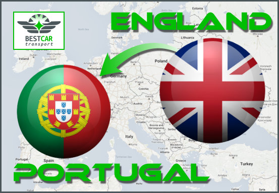 From England to Portugal