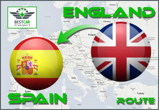 From England to Spain