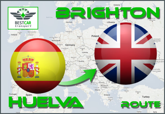 Car Transport Form Huelva to Brighton