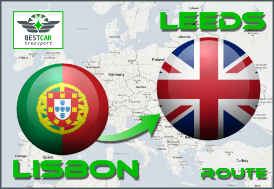 Car Transport From Lisbon to Leeds