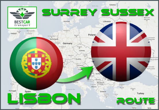 Route-Lisbon-Surrey-Sussex