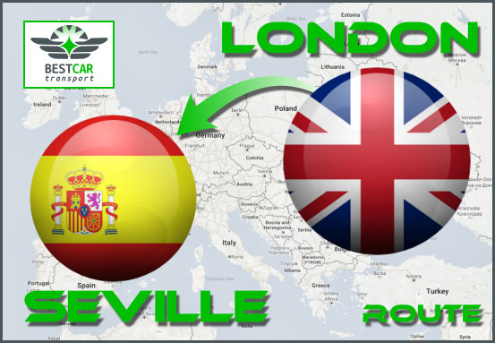 Route-London-Seville