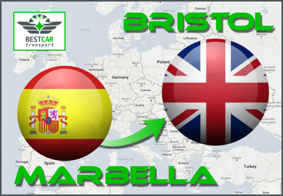 Car Transport From Marbella to Bristol
