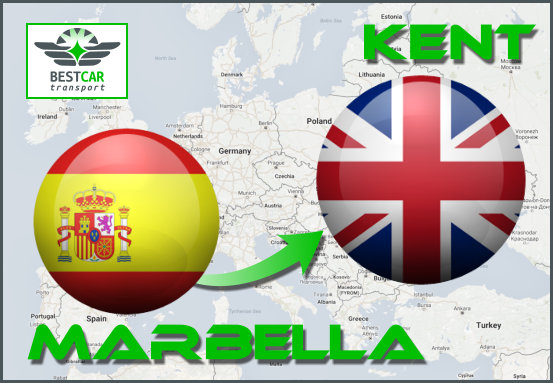 Car Transport From Marbella to Kent