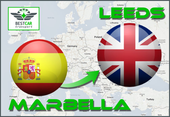 Car Transport From Marbella to Leeds