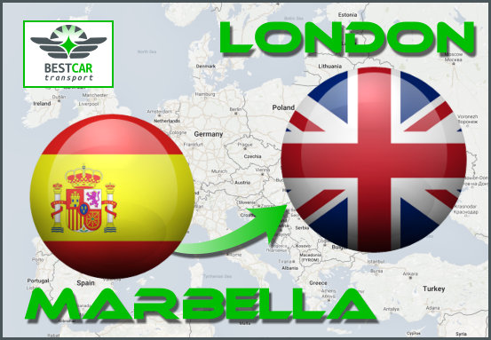 Car Transport From Marbella to London
