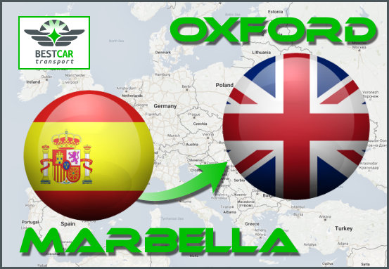 Car Transport From Marbella to Oxford