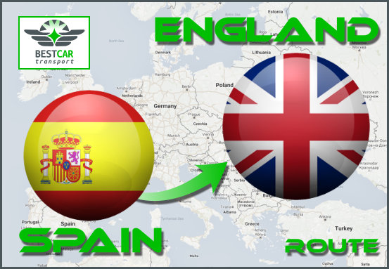 From Spain to England