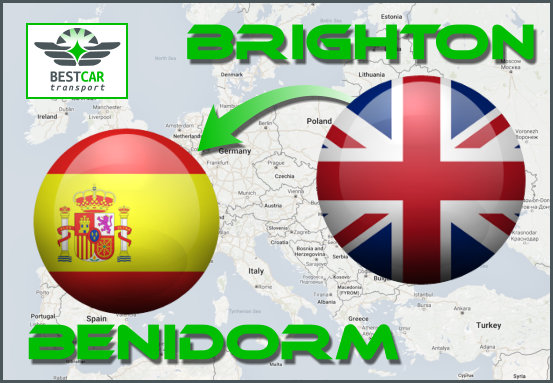 Car Transport Form Brighton to Benidorm