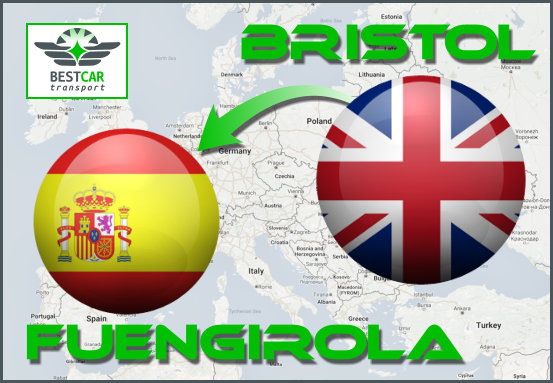 Car Transport Form Bristol to Fuengirola