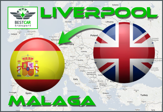 Car Transport Form Liverpool to Malaga