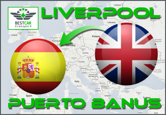 Car Transport Form Liverpool to Puerto Banus