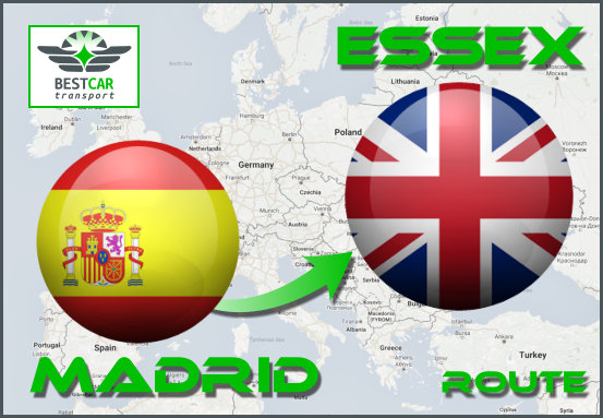 Route-Madrid-Essex