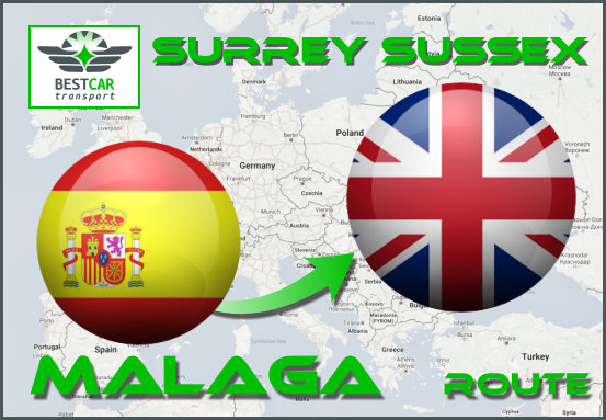Route-Malaga-Surrey-Sussex