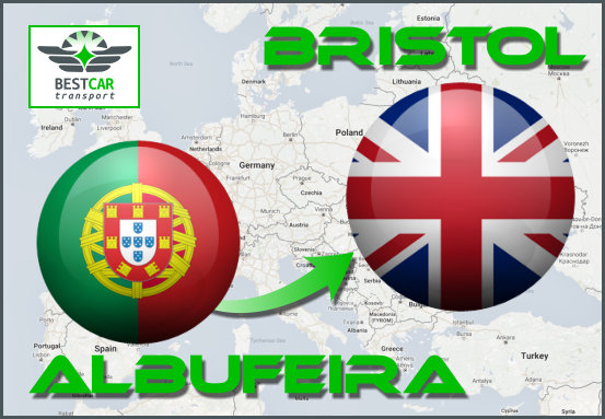 Car Transport From Albufeira to Bristol