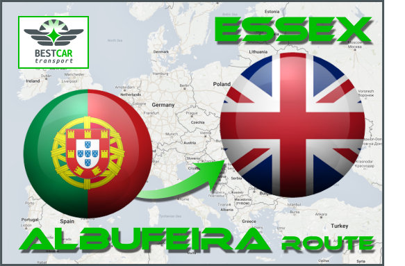 Car Transport From Albufeira to Essex