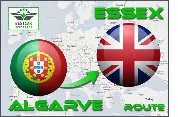 Car Transport From Algarve to Essex