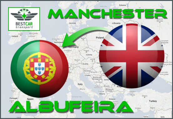 Car Transport Form Manchester to Albufeira