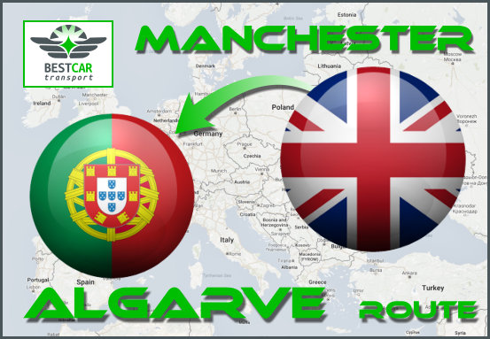 Car Transport Form Manchester to Algarve