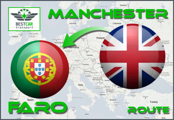 Car Transport Form Manchester to Faro