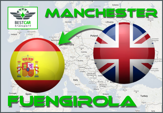 Car Transport Form Manchester to Fuengirola