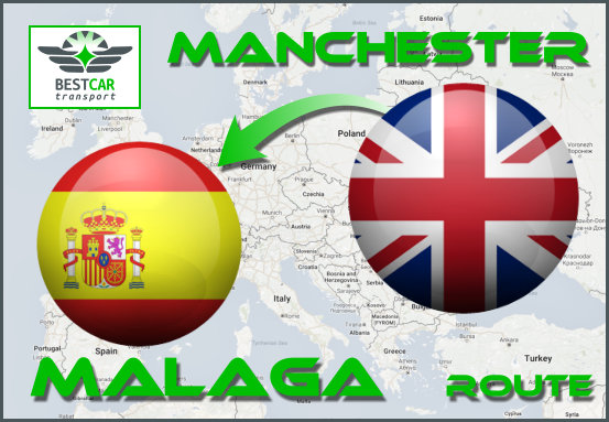 Car Transport Form Manchester to Malaga