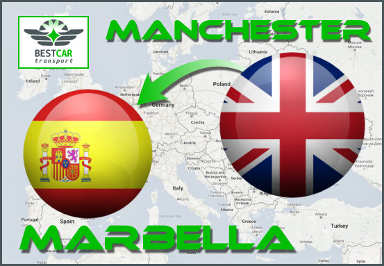 Car Transport Form Manchester to Marbella