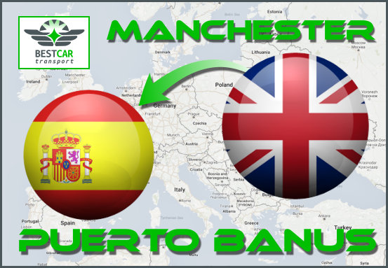 Car Transport Form Manchester to Puerto Banus