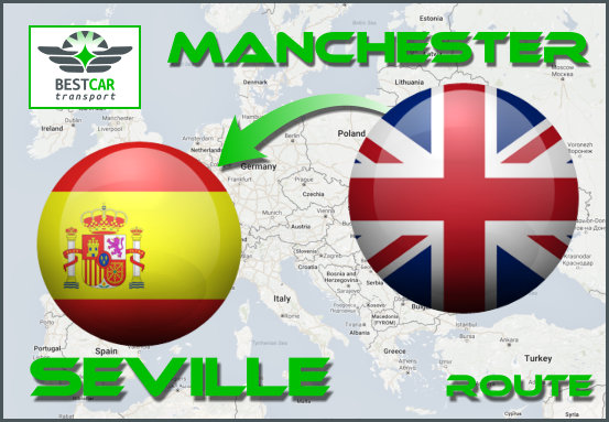 Car Transport Form Manchester to Seville