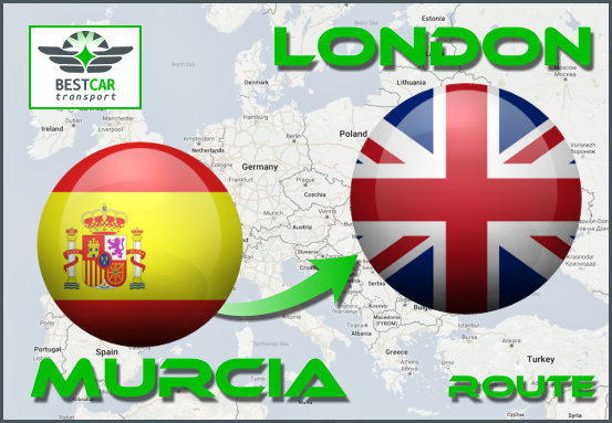 Car Transport Form Murcia to London