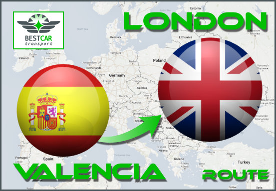 Route-Valencia-London